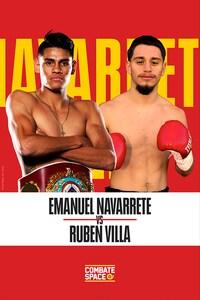 EMANUEL NAVARRETE VS RUBÉN VILLA